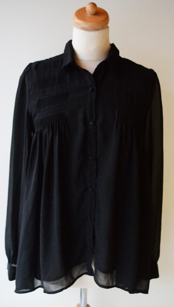 Koszula Vero Moda M 38 Czarna Mgiełka Elegancka...