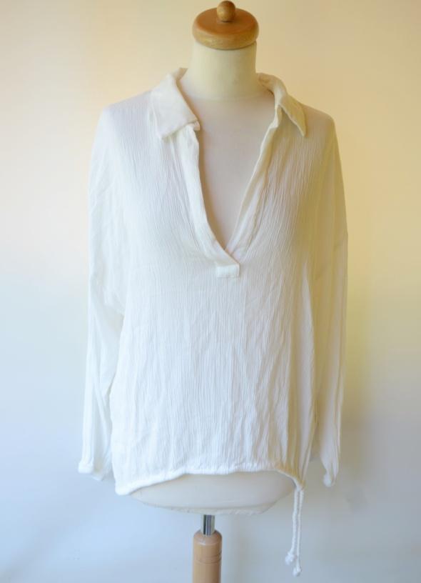Koszula Biała H&M XXL Pracy Biura 44 Elegancka