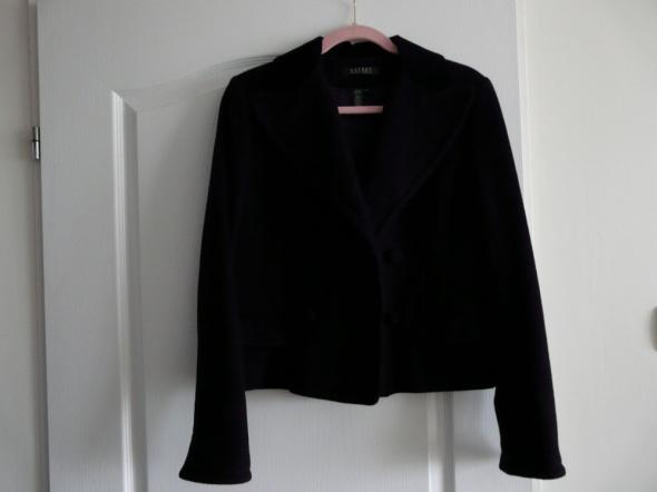 Ralph Lauren Czarny żakiet marynarka wełna M orygi