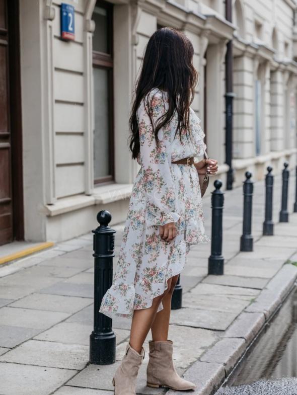 Suknie i sukienki Sukienka Morville white flowers