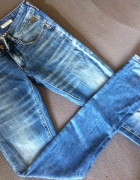 Spodnie rurki Replay XS...