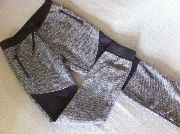 Nowe dresy spodnie rurki szare S...