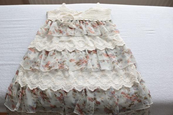 Koronkowo szydełkowa letnia sukienka z RPA