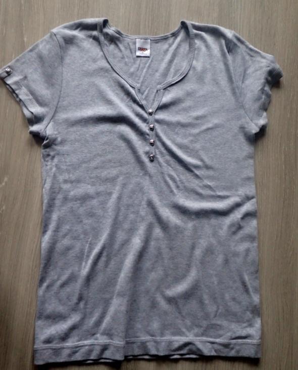 Bluzeczka bawełna popiel M L