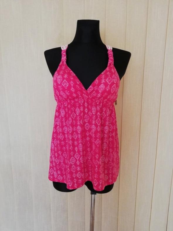 Pink Rose bluzka na lato z USA
