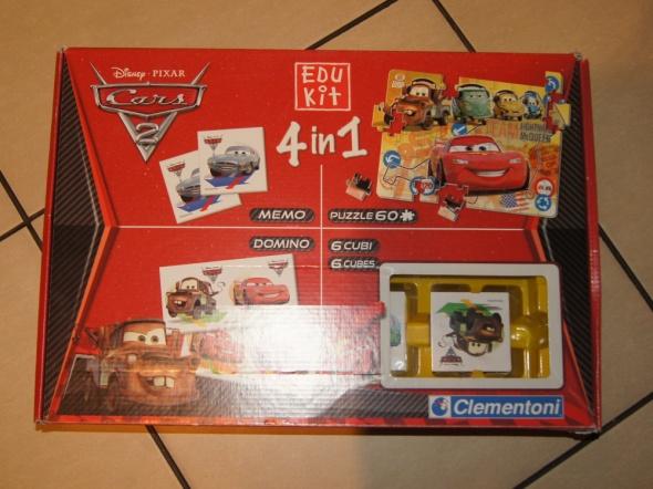 Gra 4 w 1 Auta Cars Clementoni...