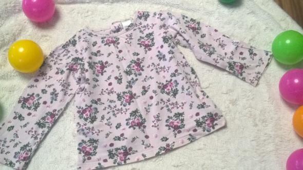 r 92 Bluzeczka floral pudrowy róż retro must have...