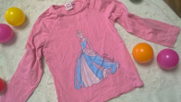 r 116 Bluzka firmy Disney z Kopciuszkiem