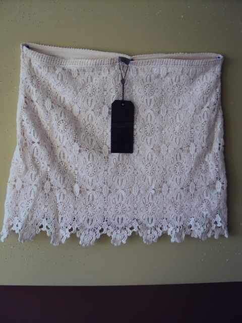 Spódnice krótka koronkowa spódniczka