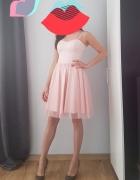 Sukienka różowa xs s...