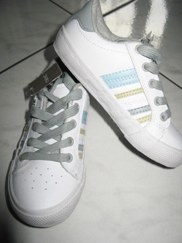 NEXT białe tenisówki dziewczęce roz 28