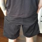 Czarne spodenki bojówki Fila rozmiar S streetwear oldschool