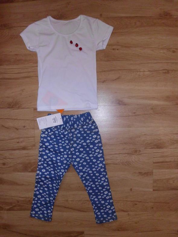 Komplecik bluzeczka i leginsy 104