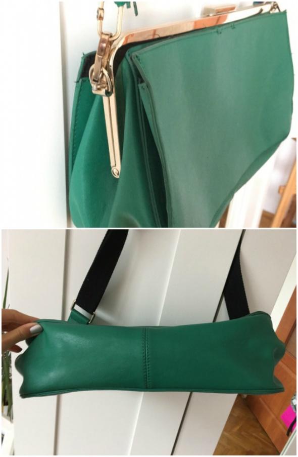 Zielona torebka Parfois...