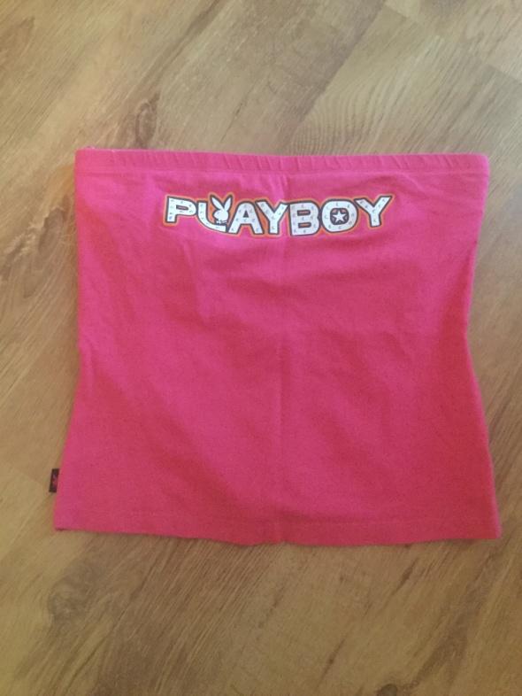 playboy orginal uk 12 40 M top tuba pink różowy