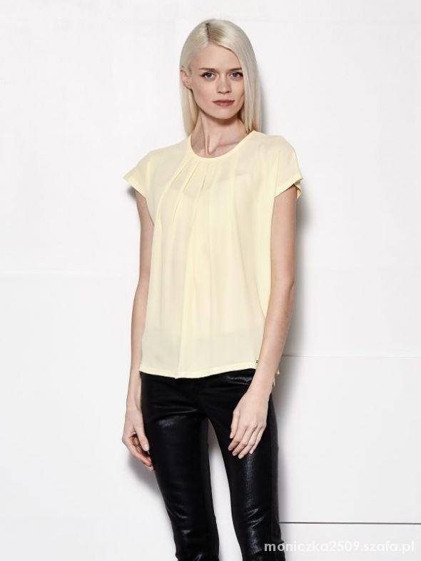 Żółta bluzeczka mohito xs