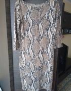 sukienka tunika wzorek zwierzęcy...