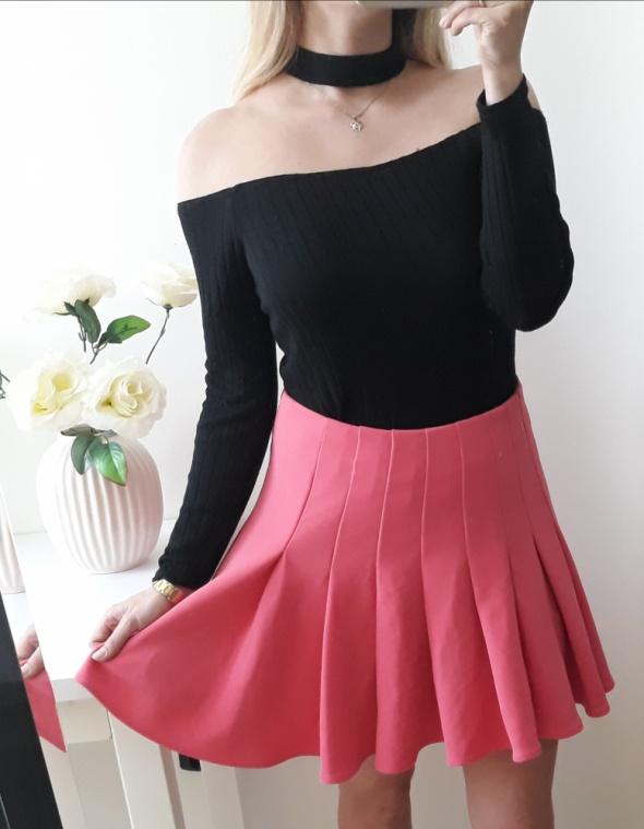 H&M Spódnica różowa plisowana elegancka L...