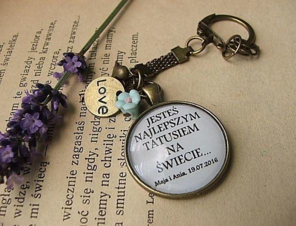 brelok klucze Dzień Dziadka Dzień Ojca Taty Dzień Matki