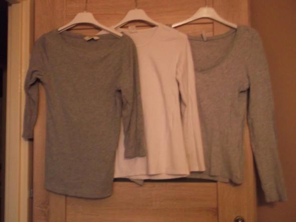 3 Bluzeczki firmowe czwarta gratis...