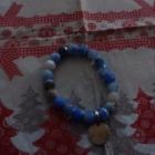 Biało niebieska