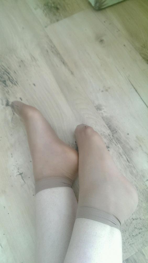 cienkie skarpetki rajstopowe pachnące stopami