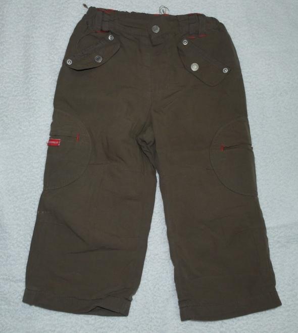 Brązowe spodnie Cocodrillo 92...