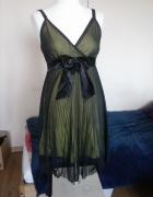 czarna sukienka japan style S M...
