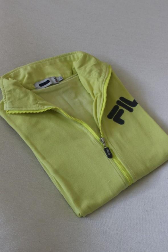 żółta bawełniana bluza fila m...