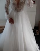 NOWA suknia ślubna 34 36 TANIO jak Milla Nova...