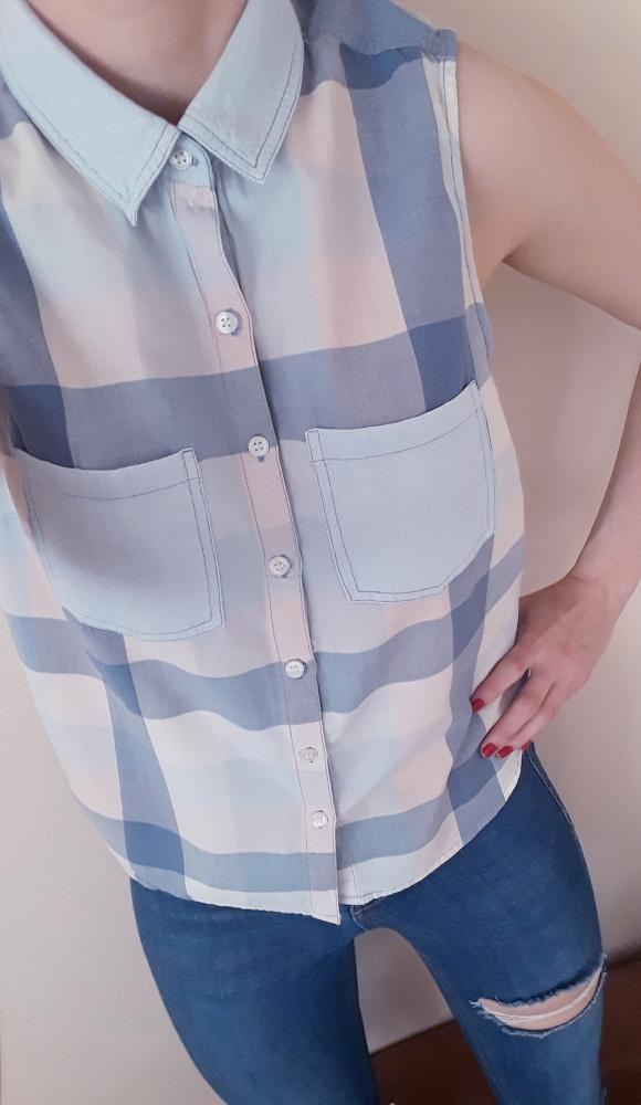 Koszula w kratę...