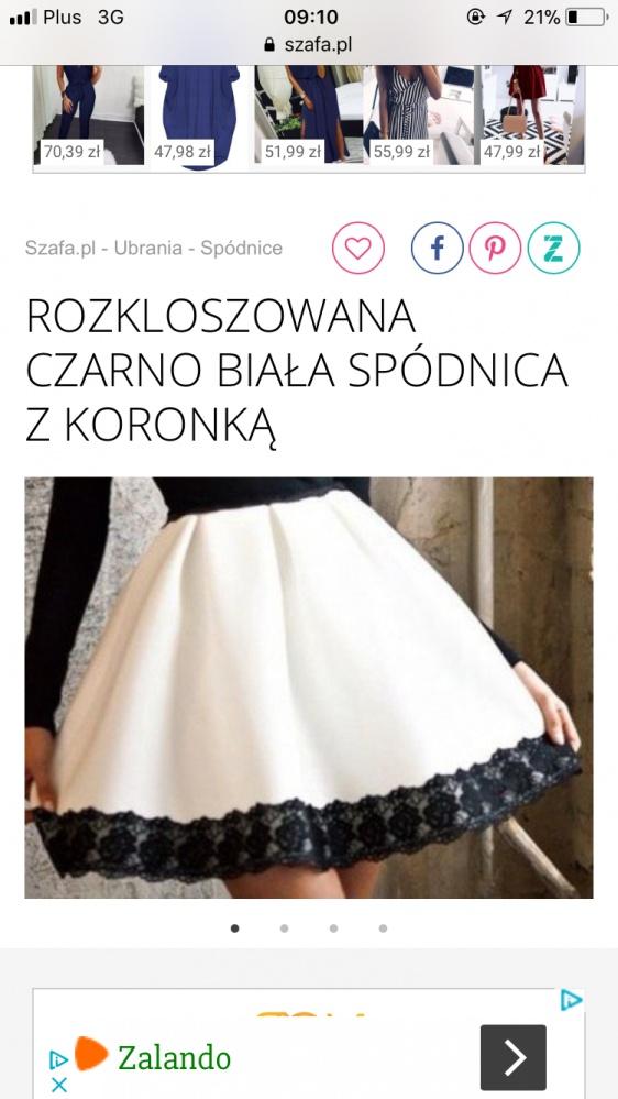 Ubrania Spódnica rozkloszowana