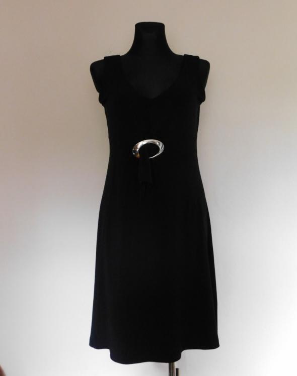 Taifun czarna sukienka midi 40 42...