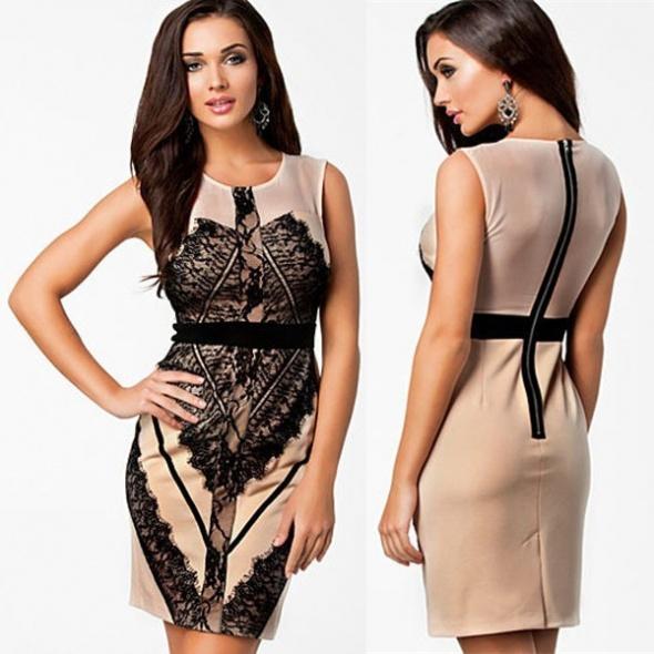 Must have Nowa piękna sukienka z koronką M L