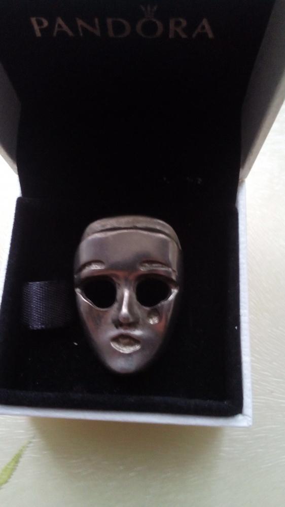Broszka Maska