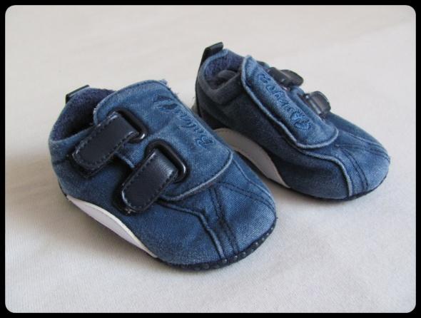 BUCIKI buty NIECHODKI dla niemowlaka wkładka 10 cm