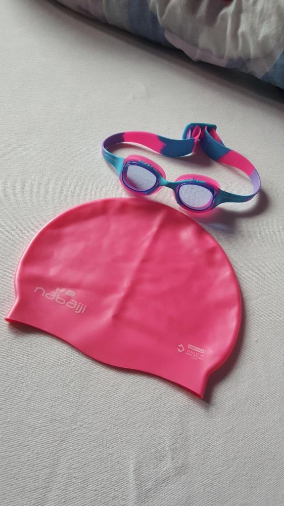 Komplet czepek i okulary
