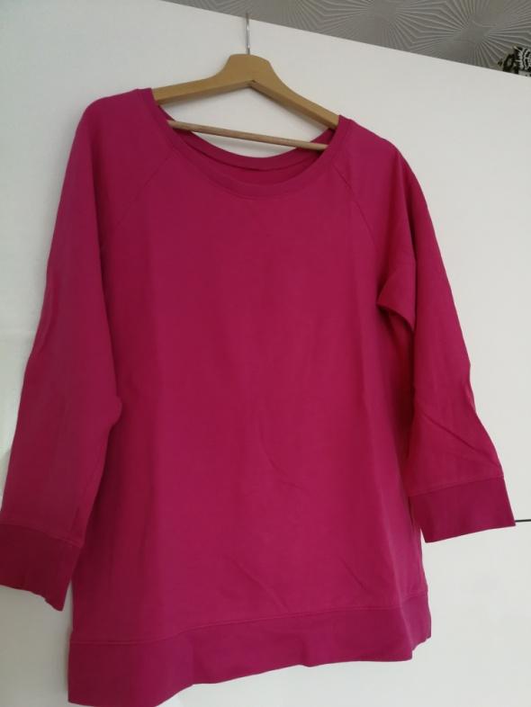 Bluzy Bluza różowa fuksja rozm L XL