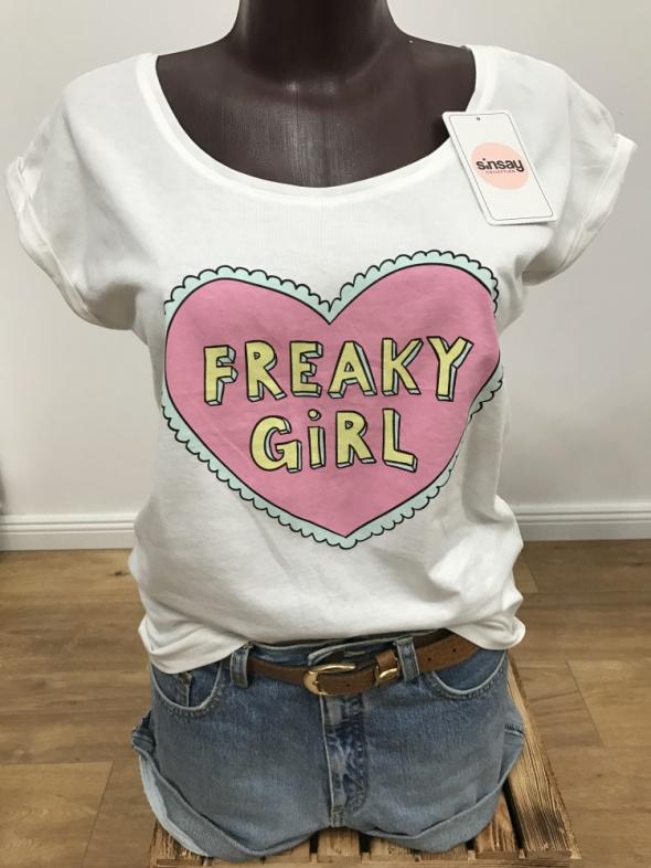 T-shirt koszulka Freaky Girl NOWA