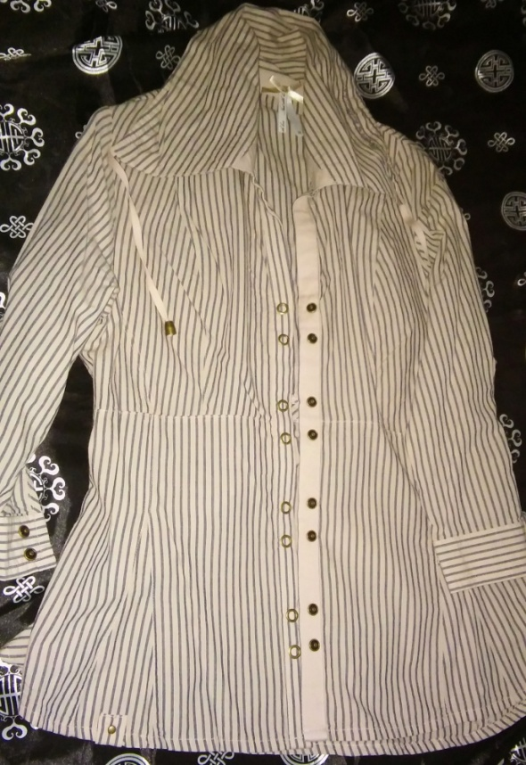 Koszule Nowa Bluzka Koszula 40 L na Wiosnę Next