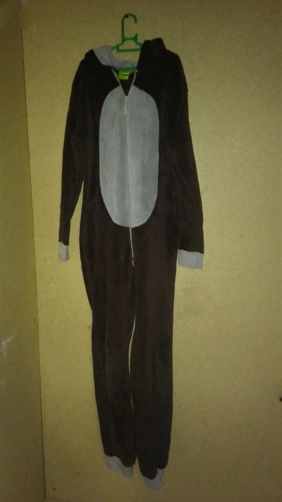 Przebranie małpka onesie kombinezon 12 13 lat 146 cm