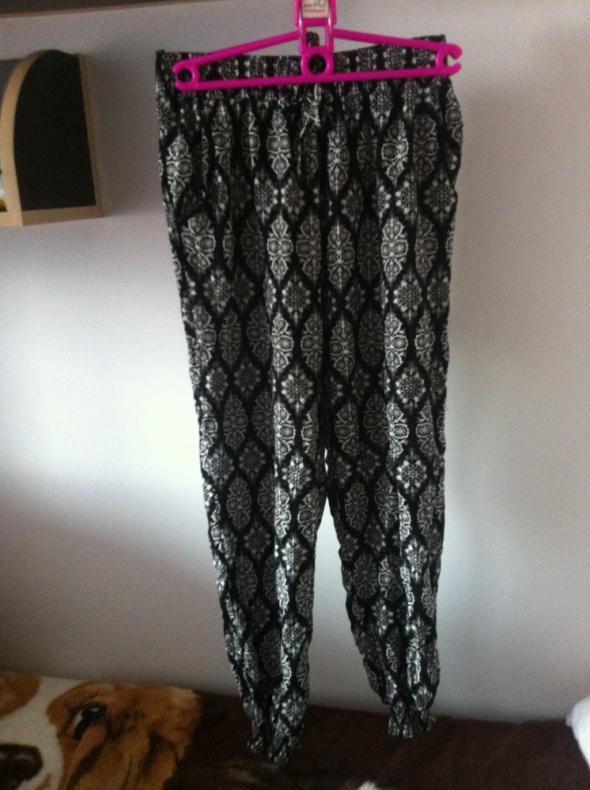 Szerokie spodnie alladynki haremki Dresy etniczne