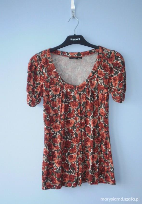 Lindex jak nowa kwiatowa bluzeczka...