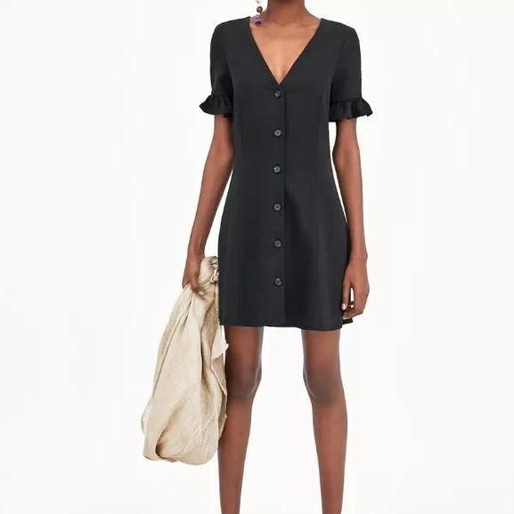 Nowa czarna sukienka ZARA