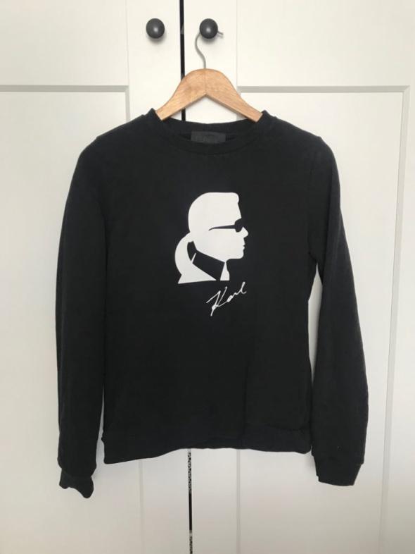 Czarna bluza Karl Lagerfeld Iconic M...