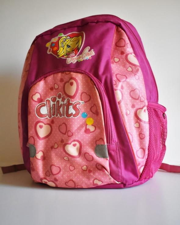 LEGO Plecak tornister różowy dla dziewczynki