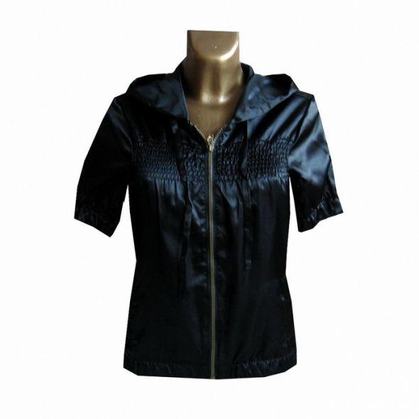 Elegancka Czarna Bluza z Kapturem 38 M z Usa