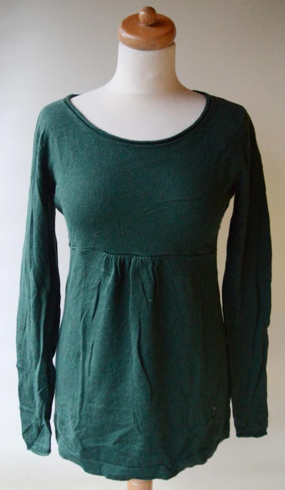 Sweter H&M Mama Zielony M 38 Ciążowy Brzuszek