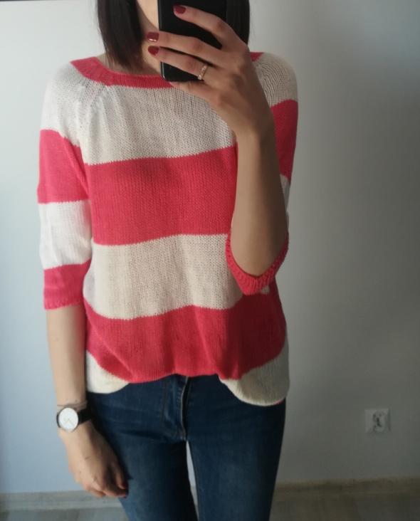 Sweterek w paski RESERVED