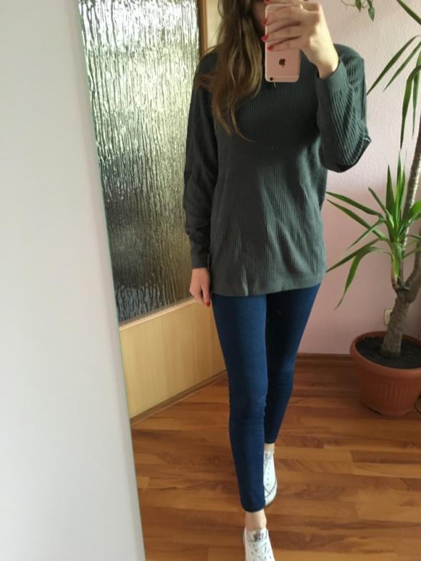 Tezenis szary sweter 36 S oversize nowy
